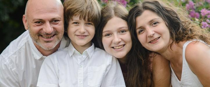 Лятна семейна фотосесия